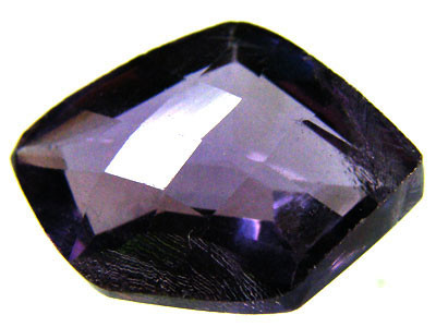 AMETHYST FREESTYLE/CHECKERBOARD  CUT 7.10 CTS [S1416 ]