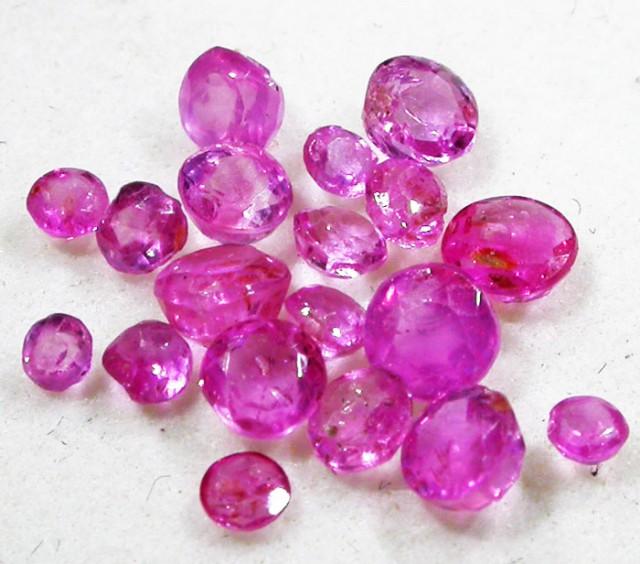 1.5 CTS AUSTRALIAN PINK SAPPHIRE PARCEL [ST9067]