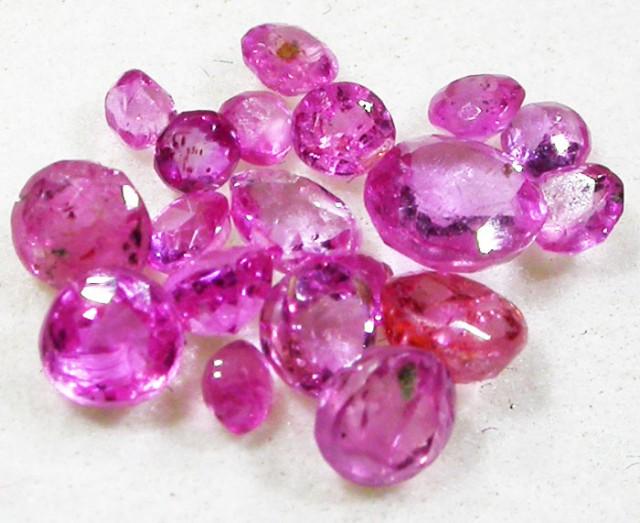 1.5 CTS AUSTRALIAN PINK SAPPHIRE PARCEL [ST9069]