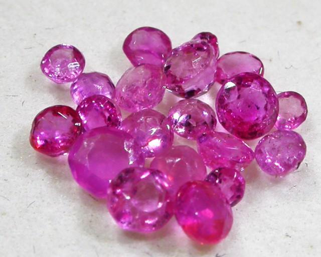 1.5 CTS AUSTRALIAN PINK SAPPHIRE PARCEL [ST9071]