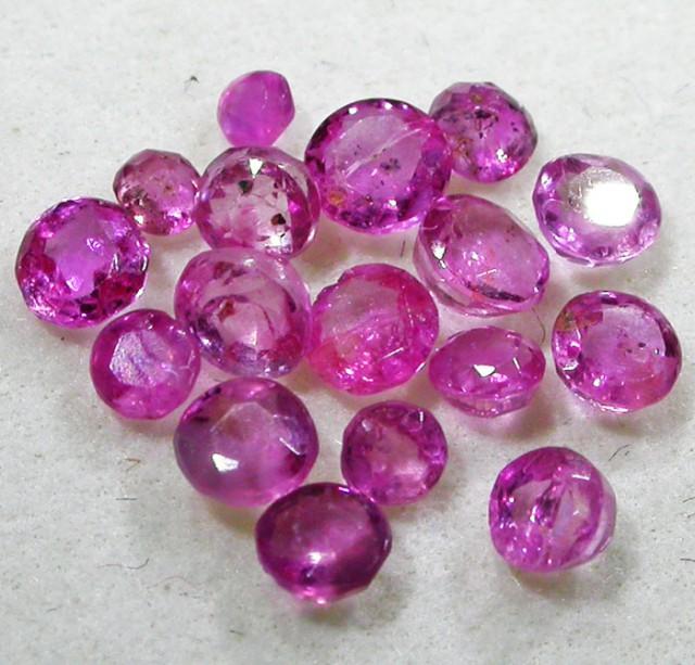 1.5 CTS AUSTRALIAN PINK SAPPHIRE PARCEL [ST9086]