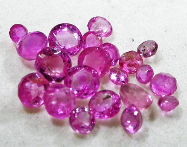 1.5 CTS AUSTRALIAN PINK SAPPHIRE PARCEL [ST9085]