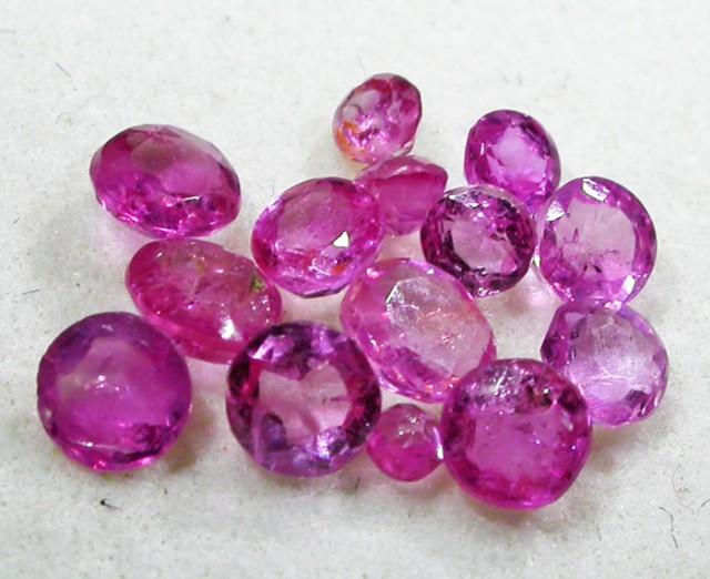 1.5 CTS AUSTRALIAN PINK SAPPHIRE PARCEL [ST9087]