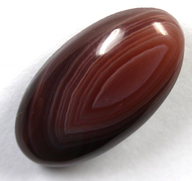 19.85 CTS BANDED AGATE POLISHED STONE