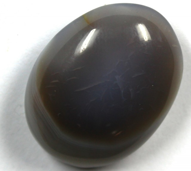36.25 CTS BANDED AGATE POLISHED STONE