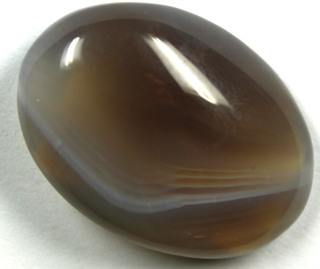 18.05 CTS BANDED AGATE POLISHED STONE