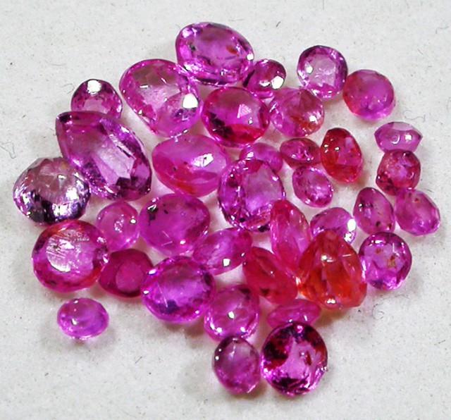 3 CTS AUSTRALIAN PINK SAPPHIRE PARCEL [ST9132]
