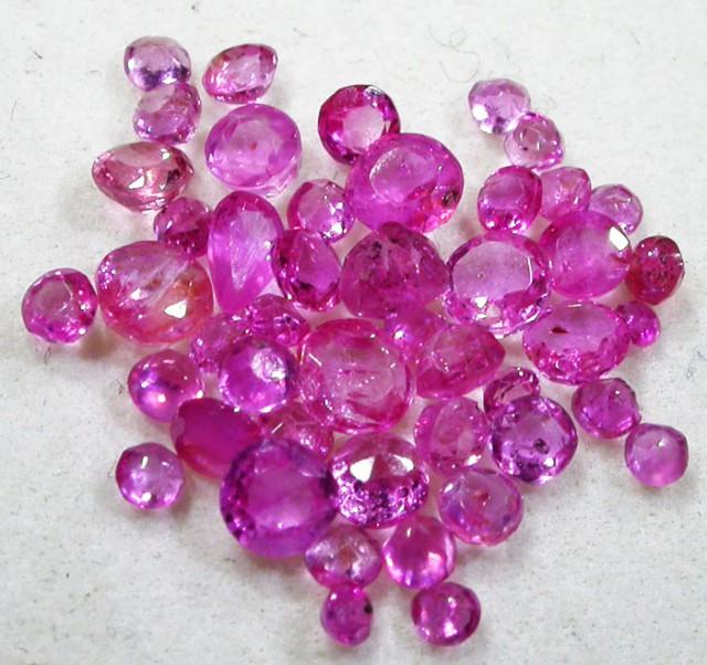 3 CTS AUSTRALIAN PINK SAPPHIRE PARCEL [ST9143]