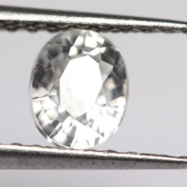 1.43cts White Cambodian Zircon (ST9164)