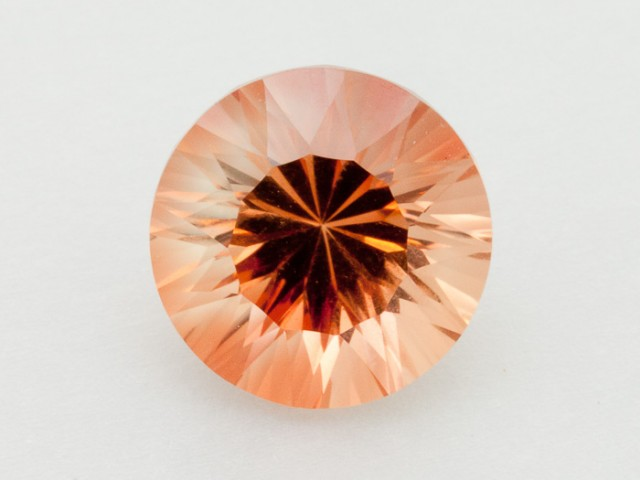 2.8ct Peach Round Sunstone (S2323)