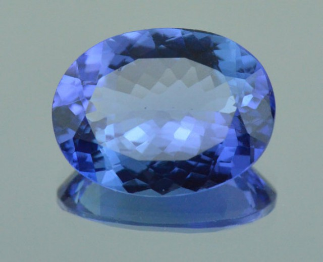 RESERVED FOR CUSTOMER 5.40ct Tanzanite oval gemstone 13.65mm x 10.45 x 5.23