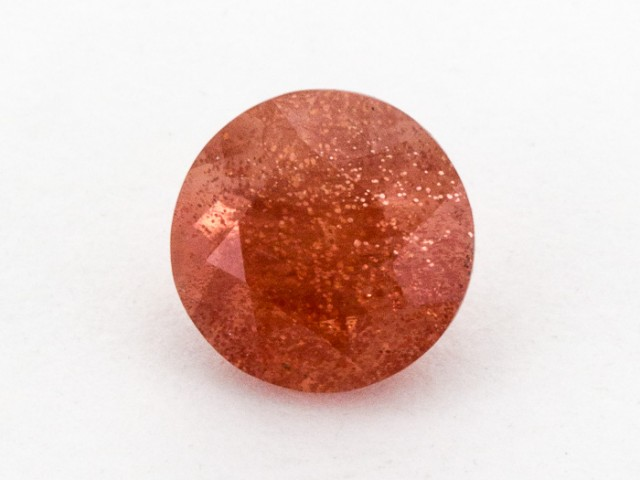 2.1ct Peach Round Sunstone (S922)