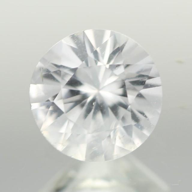 0.96CTS DIAMOND CUT SILVERY WHITE SAPPHIRE (ST9202)