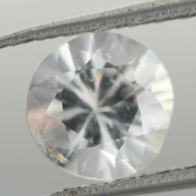 0.96CTS DIAMOND CUT SILVERY WHITE SAPPHIRE (ST9218)