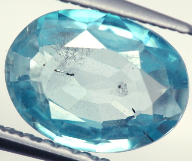 BLUE ZIRCON FACETED STONE 2 CTS PG-931