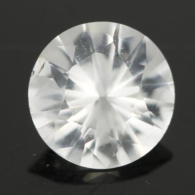 1.08CTS DIAMOND CUT SILVERY WHITE SAPPHIRE (SAP333)