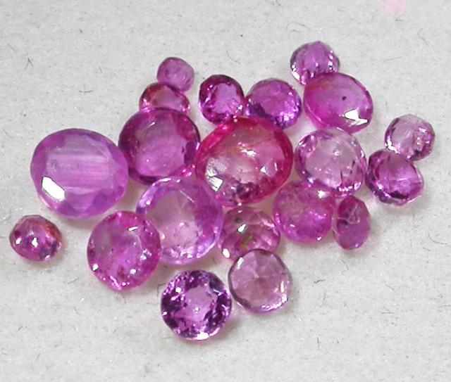 1.5 CTS AUSTRALIAN PINK SAPPHIRE PARCEL [ST9260]