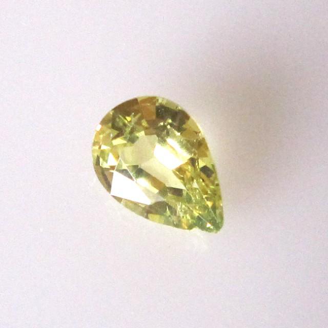 0.88cts Natural Australian Parti Sapphire Pear Shape
