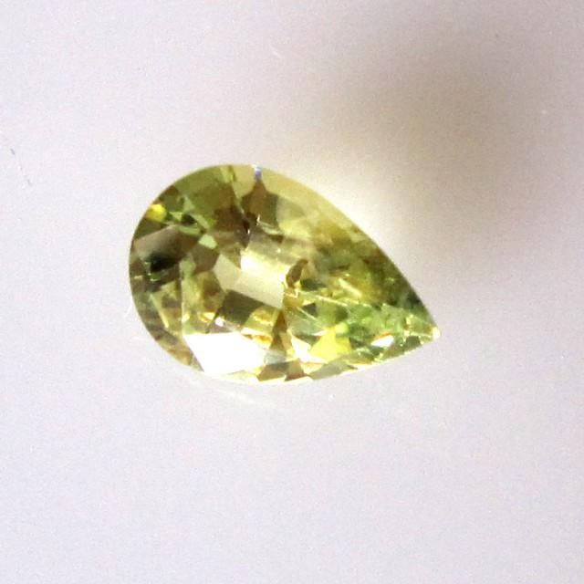 0.99cts Natural Australian Parti Sapphire Pear Cut