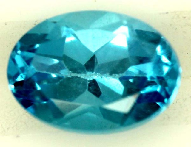 BLUE TOPAZ NATURAL FACETED  0.70 CTS  PG-1285