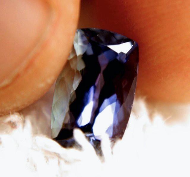2.98 Carat VVS African Purple / Blue Tanzanite - Gorgeous