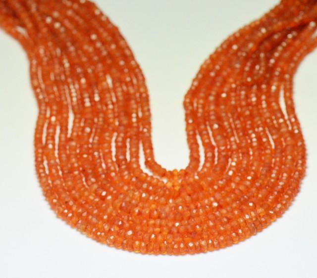 Carnelian 3mm beads 13