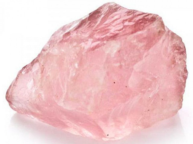 rose quartz gem grade rough 24 75 carats ngc 23