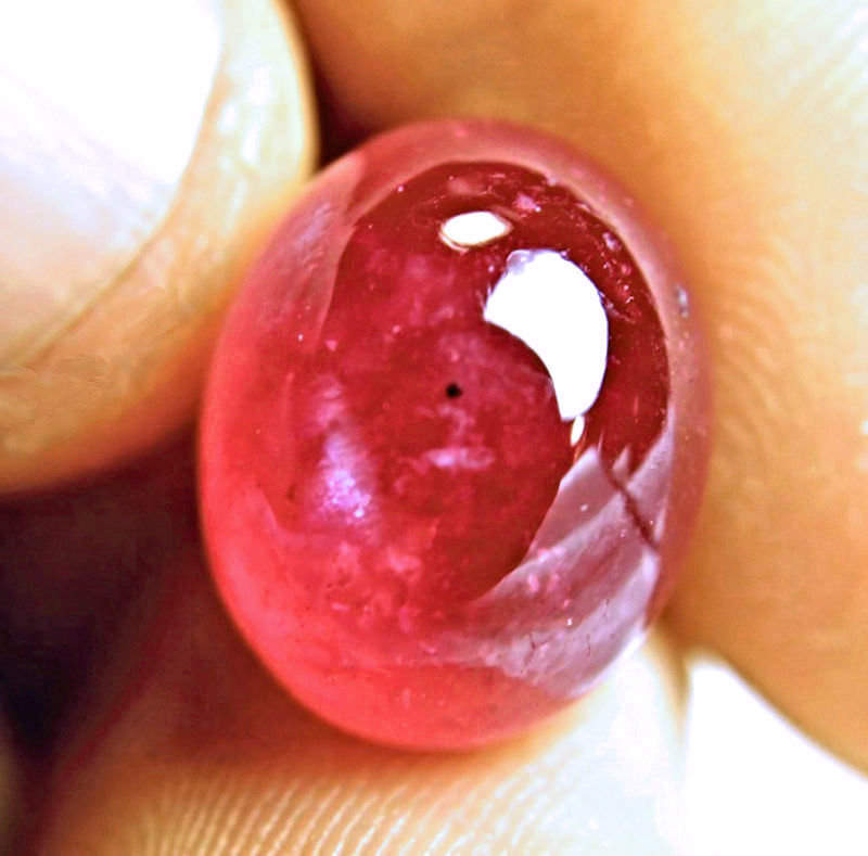 22.52 Carat Ruby Cabochon - Beautiful