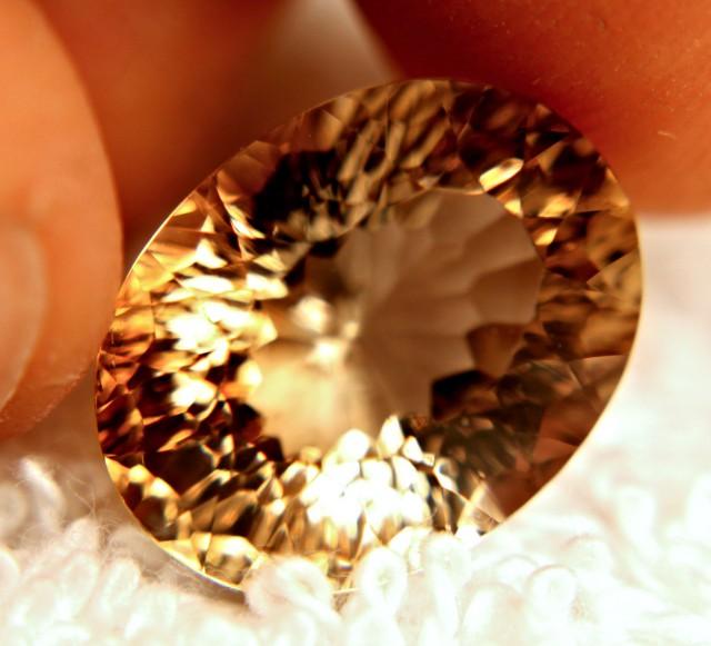 15.95 Carat Golden Brown VVS1 Topaz - Superb