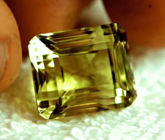 26.34 Carat Flashy Lemon Quartz - Elegant Stone