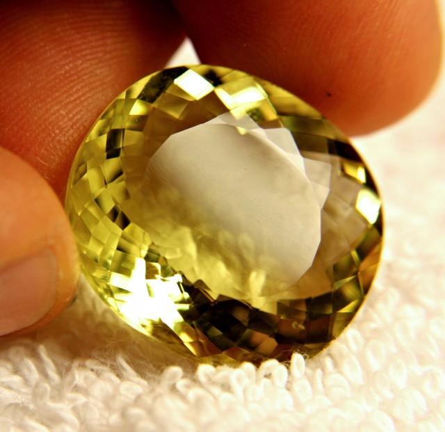 38.30 Carat 100% Natural VVS1 Lemon Quartz - Superb