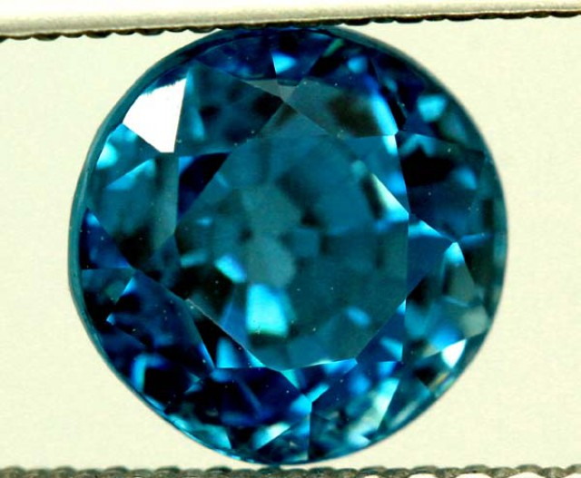 CERTIFIED ZIRCON CAMBODIA  3.70 CTS TBM-433