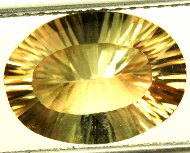 BUFF TOP FACETD SUNSTONE NATURAL 3.40 CTS  PG-1527