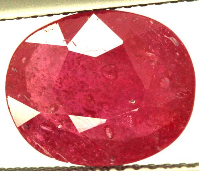 FACETED RUBY 2.95 CTS  PG-1535