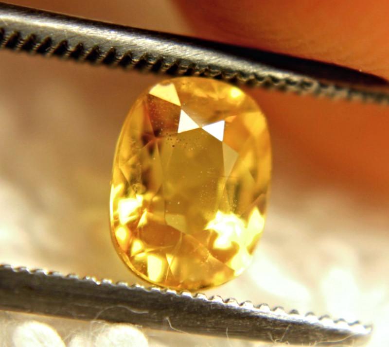 1.42 Carat VS Yellow Sapphire - Gorgeous