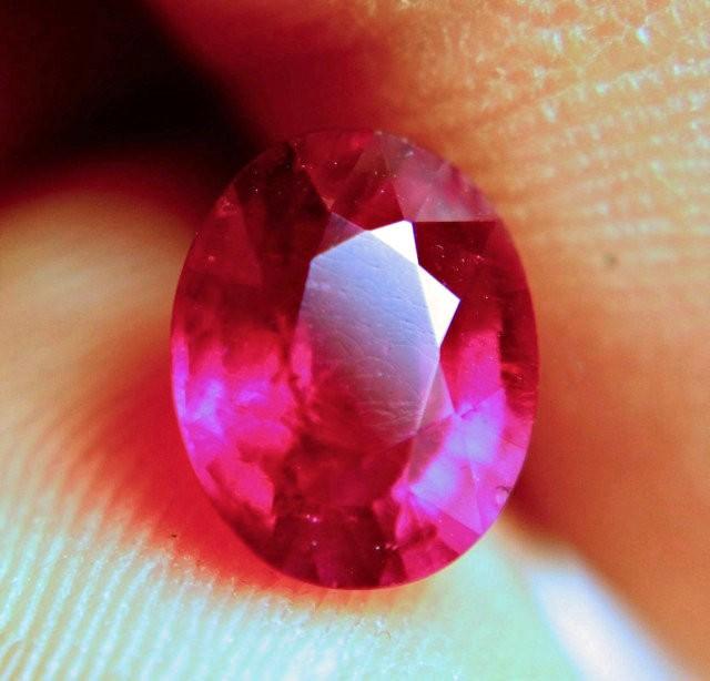 2.76 Carat Fiery Ruby - Beautiful