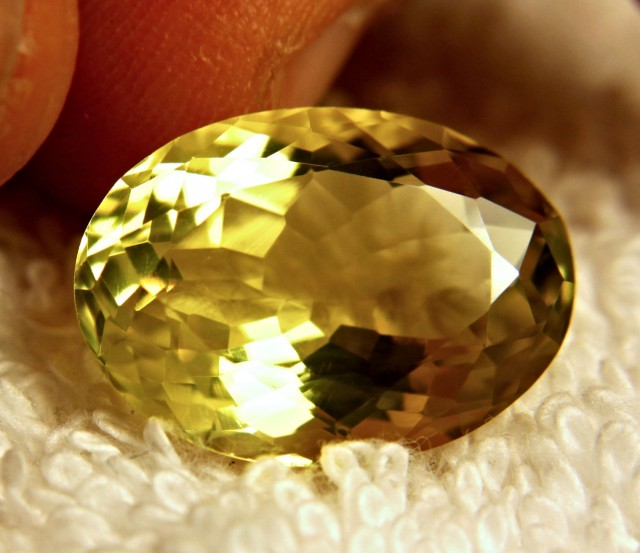 15.35 Carat IF/VVS1 Lemon Quartz - Gorgeous