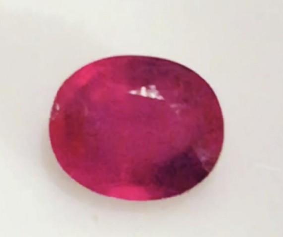 Beatutiful Bright Pinkish Red 2.30ct Ruby TH249 G530