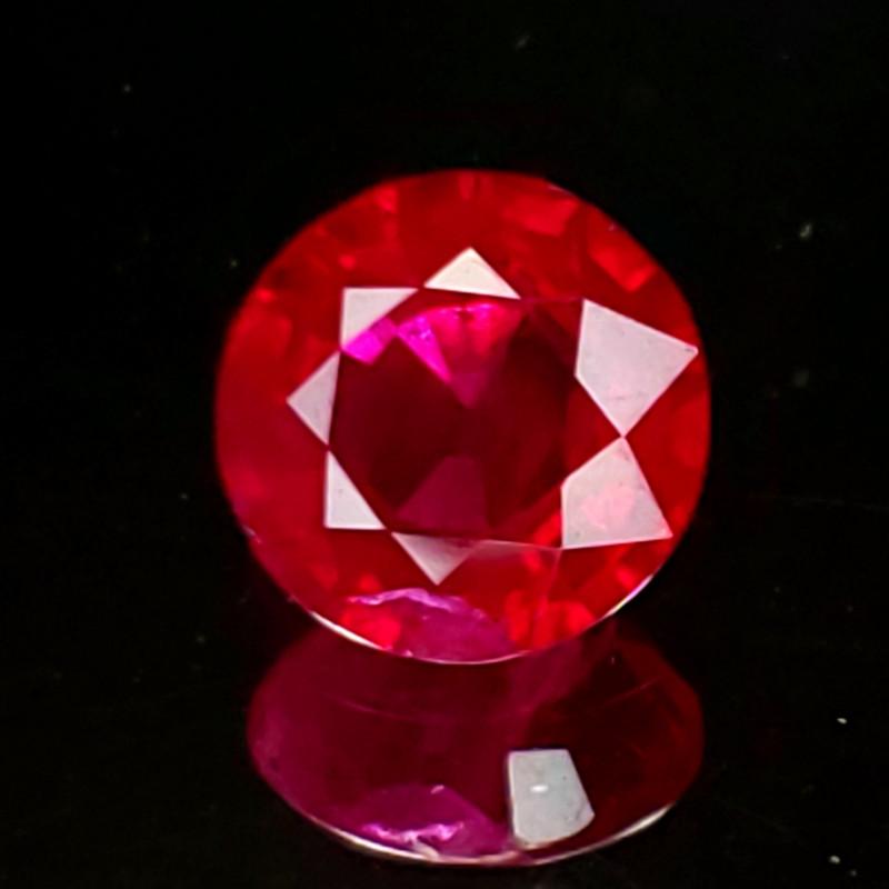 1.12ct Burma Ruby Round