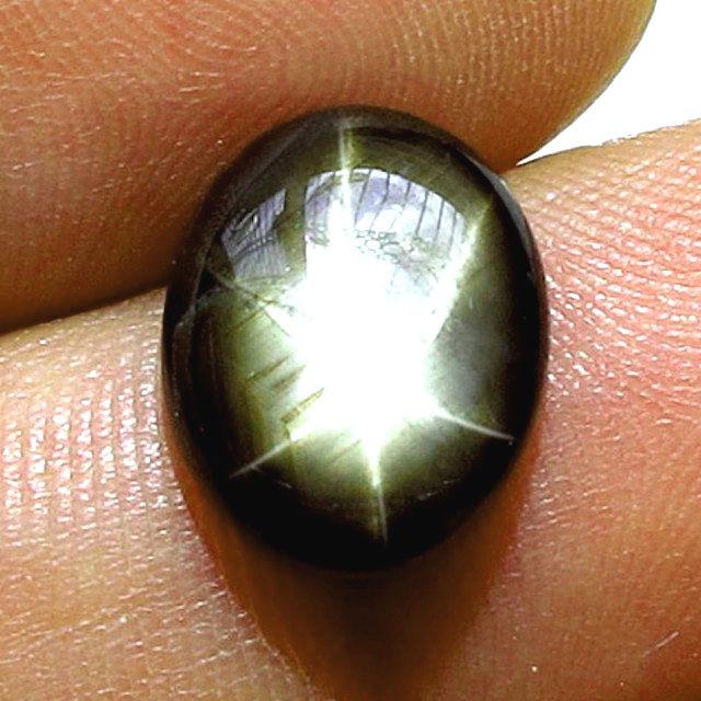5.10 Carat Thailand Black Star Sapphire