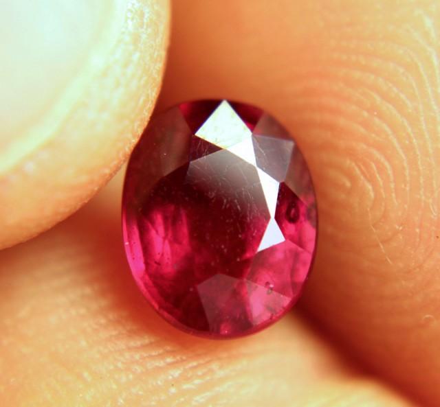 2.71 Carat Fiery Pigeon Blood Ruby - Gorgeous