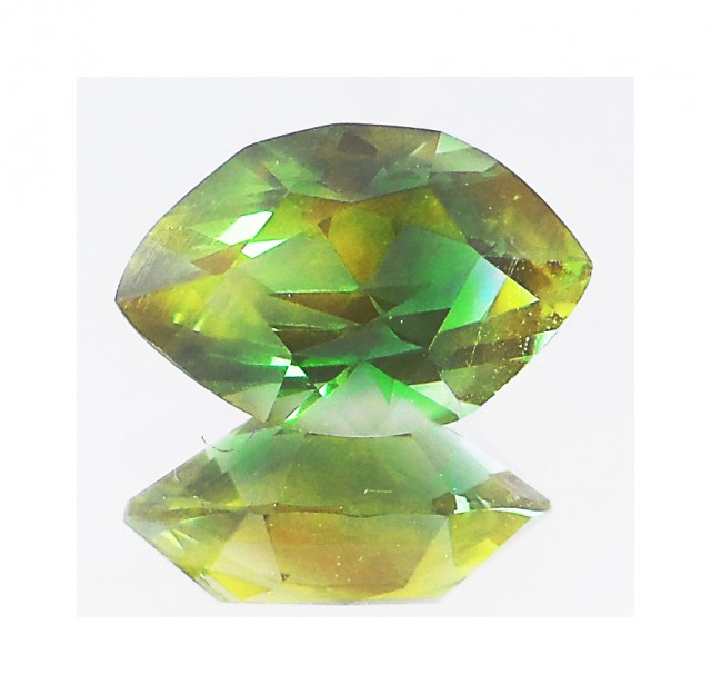 Oregon Sunstone 5.6 ct Certified GreenTeal, Gold & Slight Pink Schiller