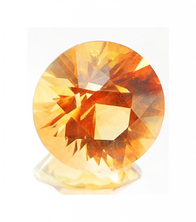 Oregon Sunstone Certified 10.31ct Gold & Peach JA2