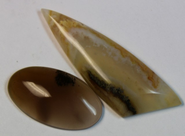 34.20 CTS 2 STONE AGATE PARCEL DEAL