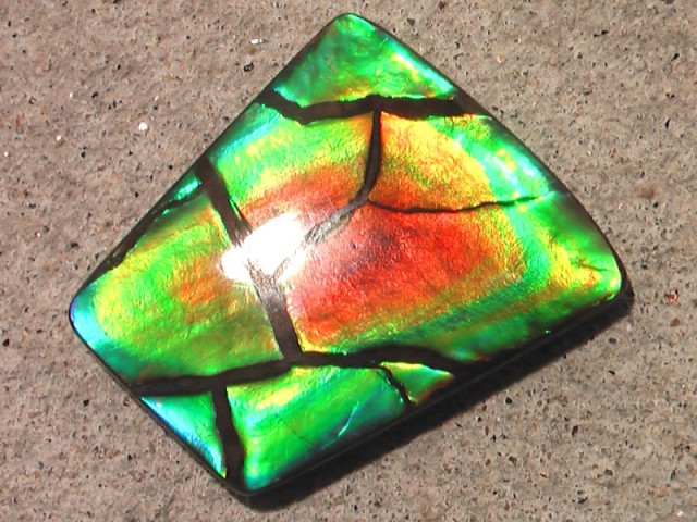 AMAZING UNIQUE 'SPECIAL GEM' Natural Ammolite 'from my personal collection'