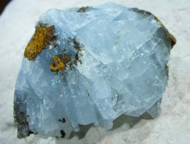 199.40 CTS LIGHT BLUE BARITE  MGW4585