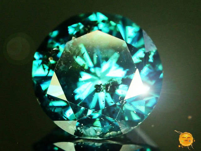 Firey 0.420 ct Top Quality Natural Blue Diamond