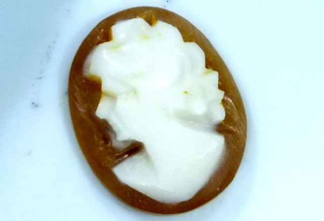 CONCH SHELL CAMEO  1.60 CTS.  CG-1648