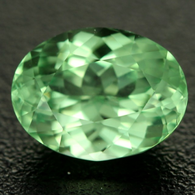 CERTIFIED  1.69CTS MINT GREEN GROSSULAR GARNET [GMI10](11041804)