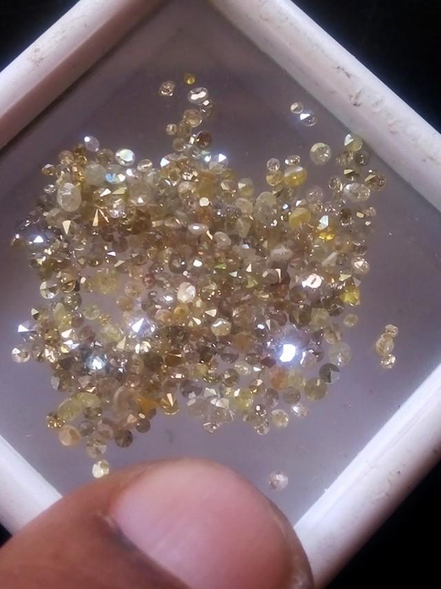 NATURAL YELLOW DIAMOND,5CTWPARCEL DEAL